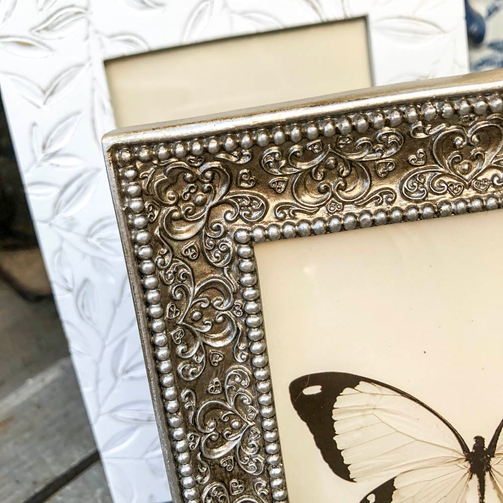 Fine Embossed Champagne Picture Frame