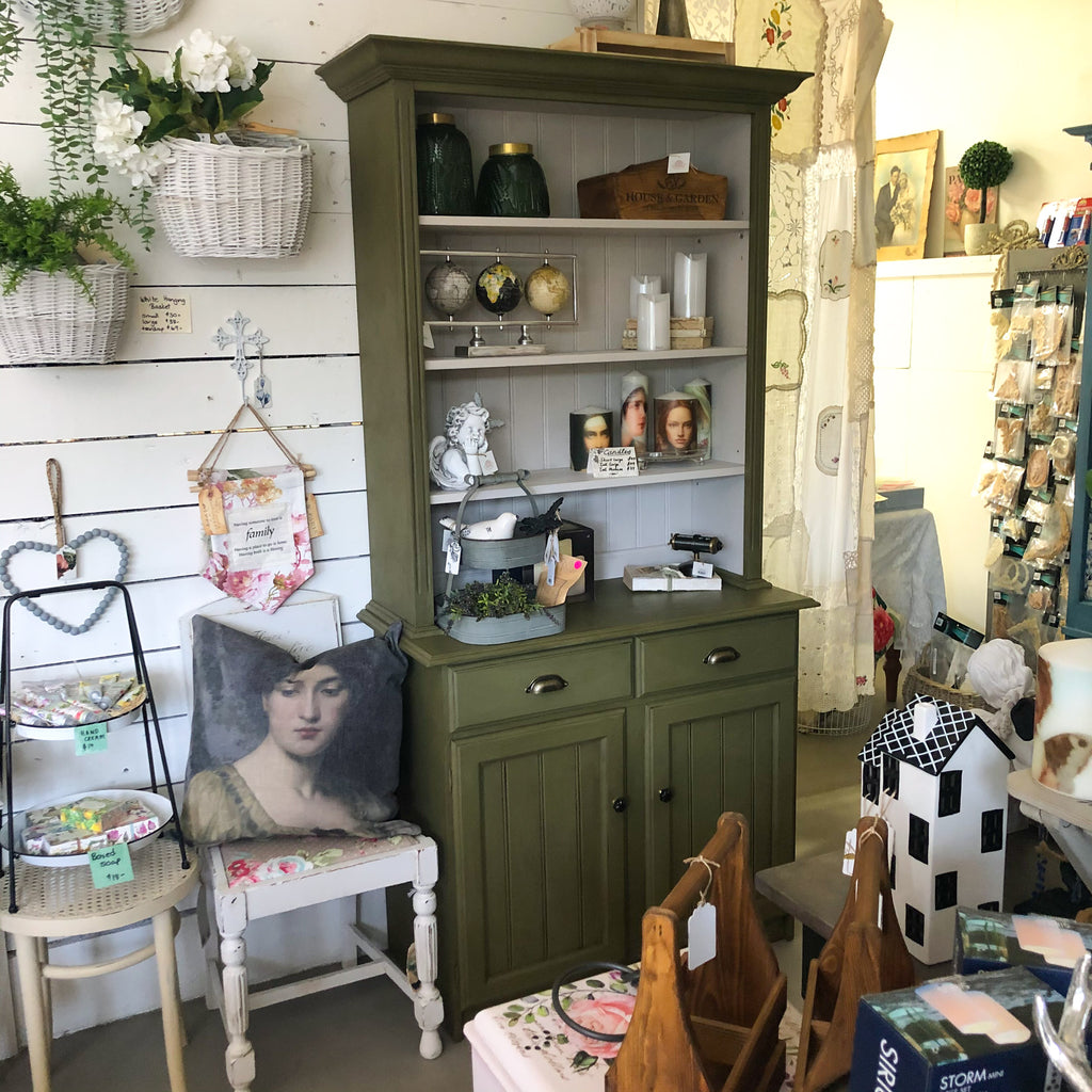 Olea Olive Farmhouse Buffet Hutch