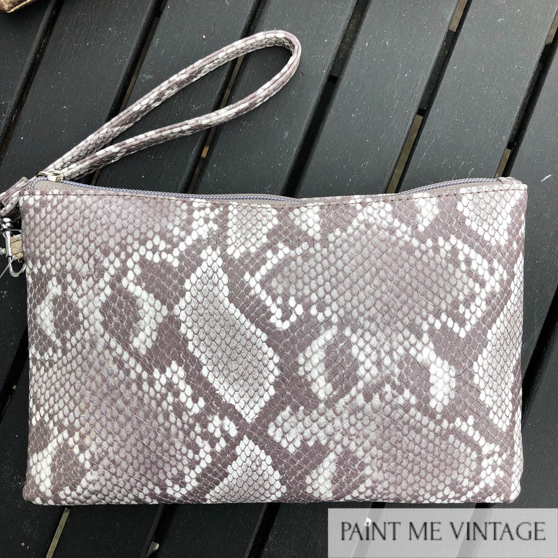 Lulu Grey Amazon Pouch Stella + Gemma