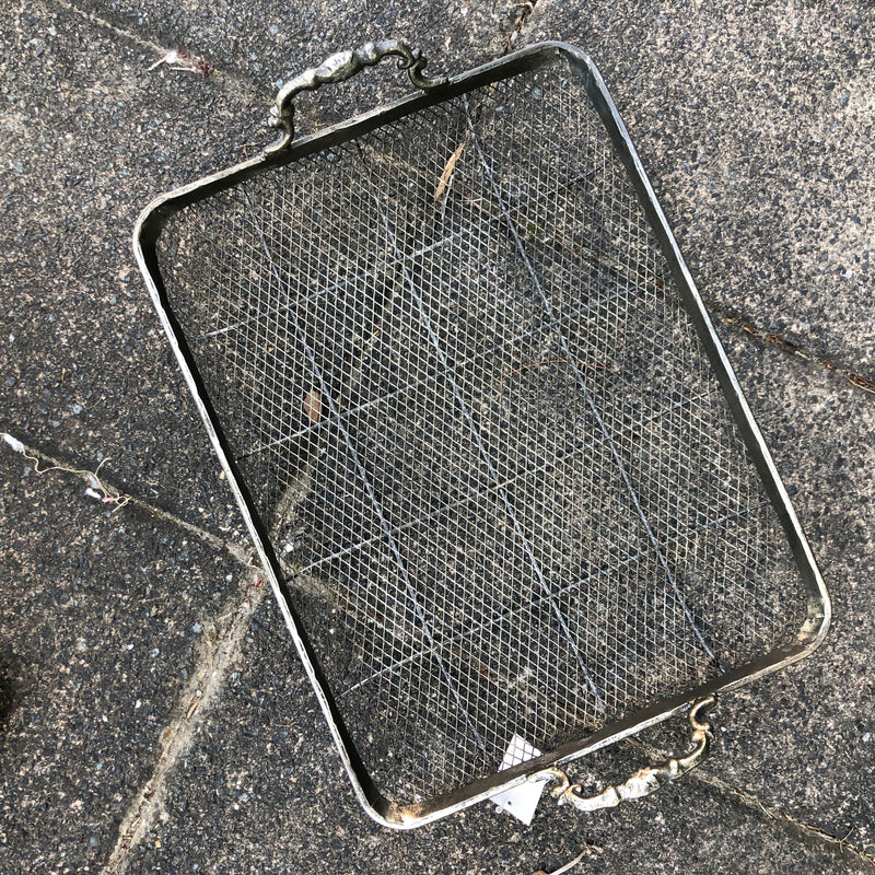 Mesh Metal Tray Large