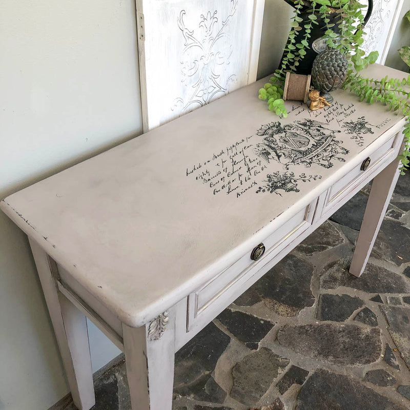 Modern Hall Table Makeover with Paloma NZ