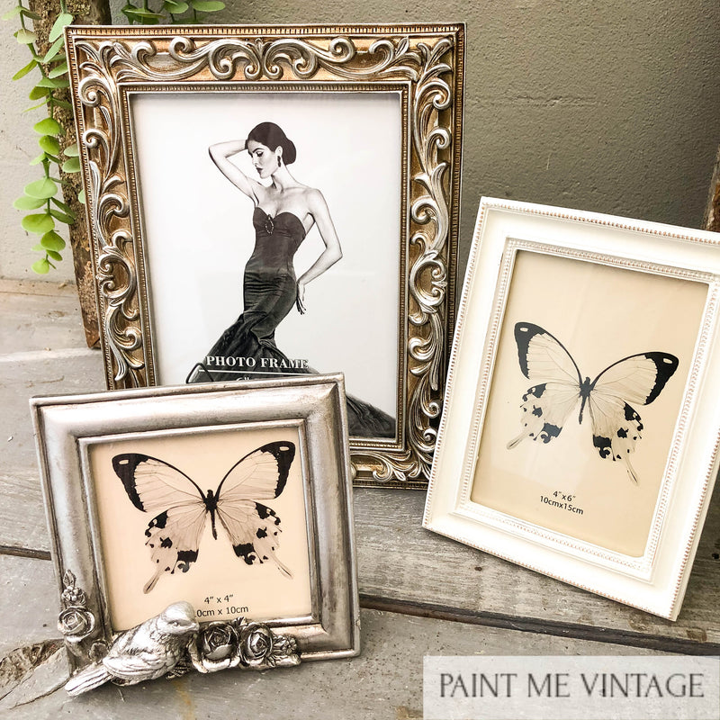 Doves Square Antique Champagne Picture Frame