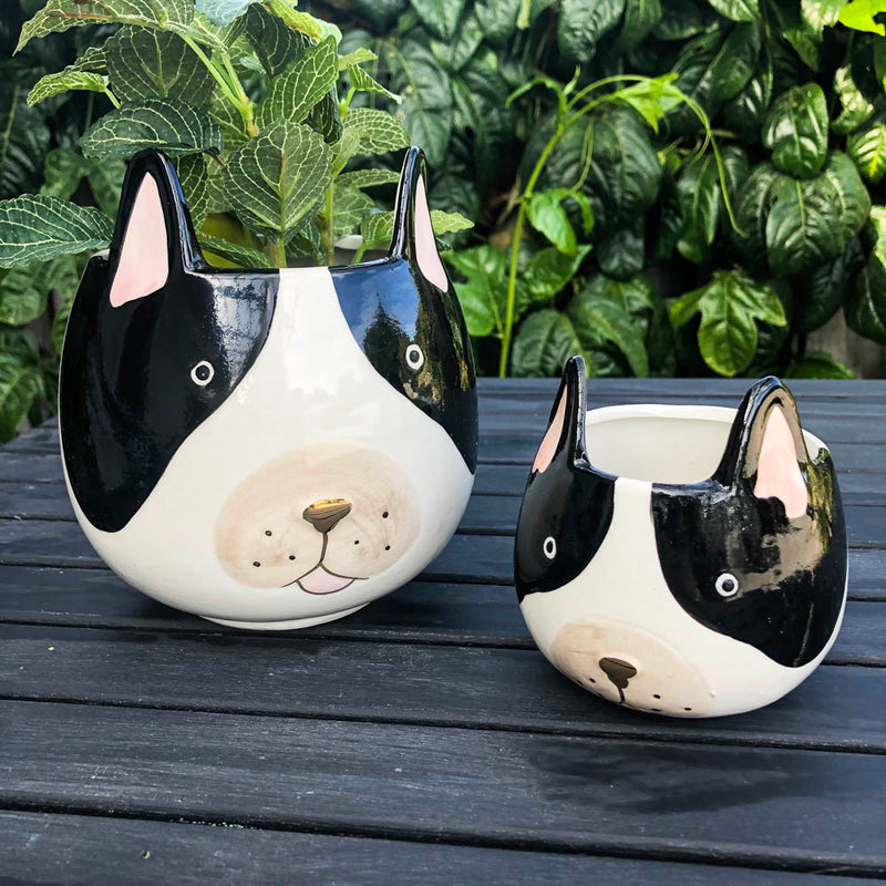 French Bulldog Planter Small