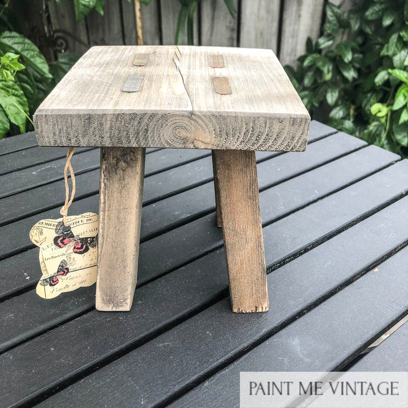 Wooden stool for displays NZ