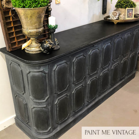 Midnight Elegant Panelled Sideboard  - available contact us