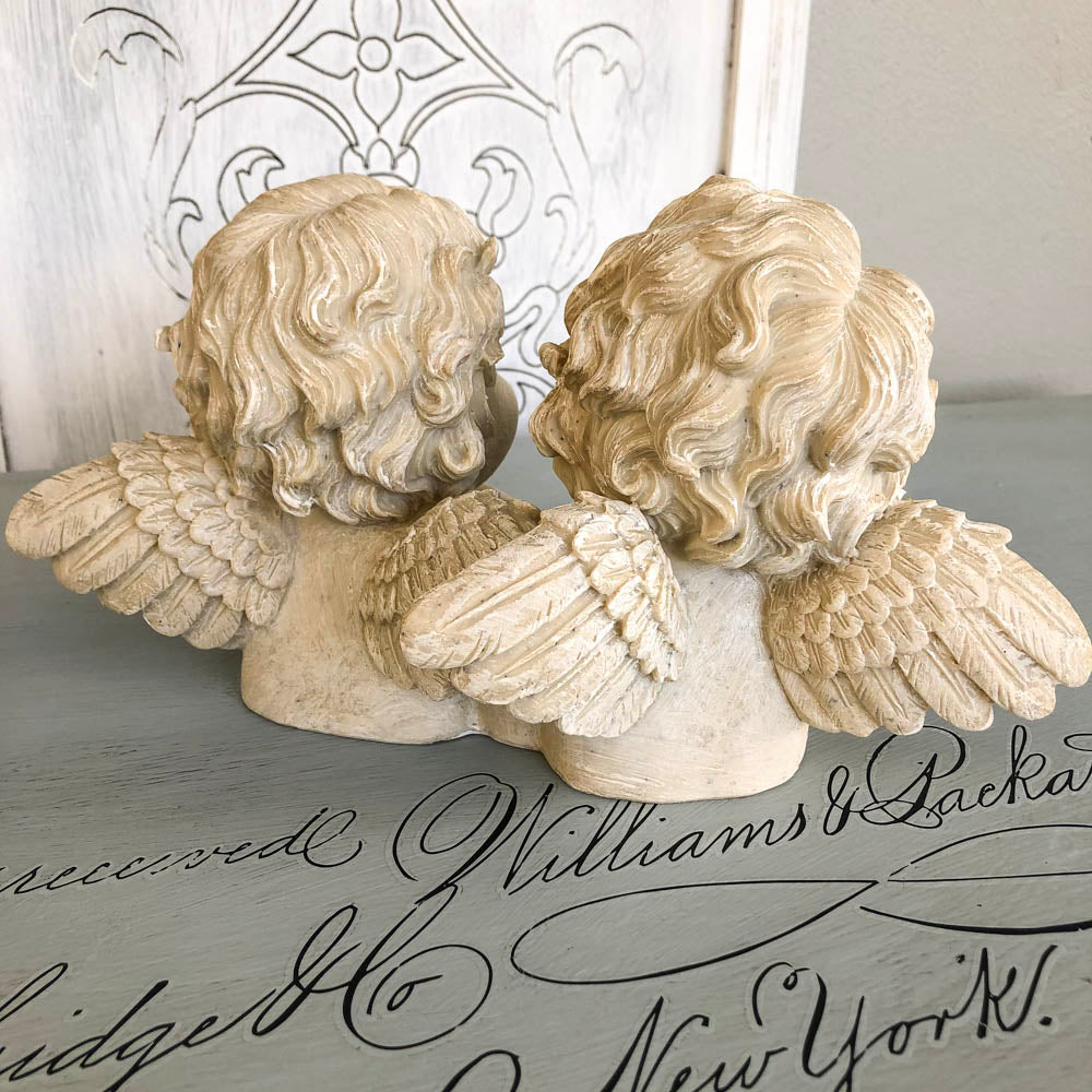 Angel Bust Pair Winged
