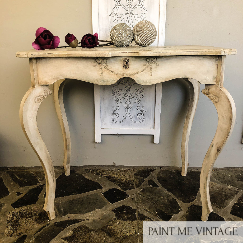 Yorkshire Stone Aged Elegance Hall Table with a Secret - no longer available