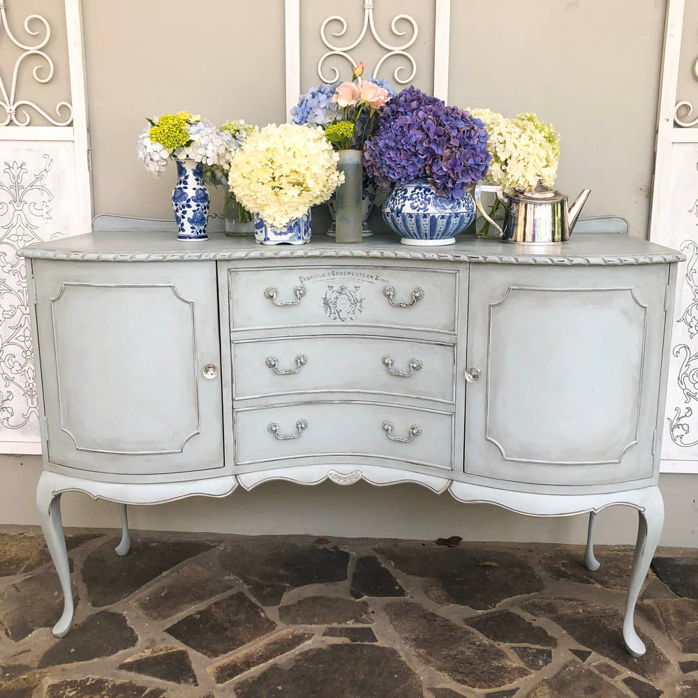 Aurora Bow Fronted and Carved Sideboard - available contact us directly