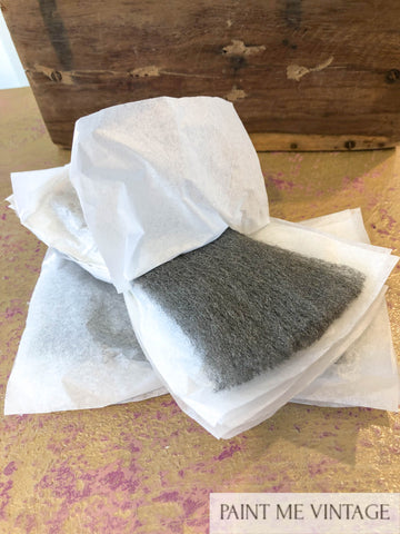 Steel Wool for waxing