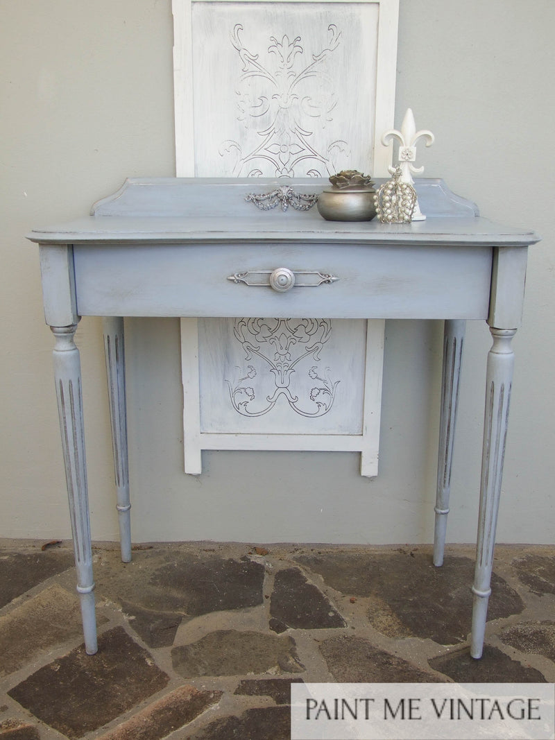 Georgian Sky & Silver Console - commission piece not for sale
