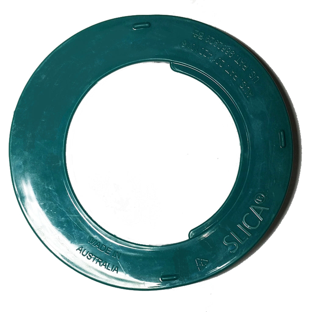 Slica Teal 946ml tin lid and rim protector