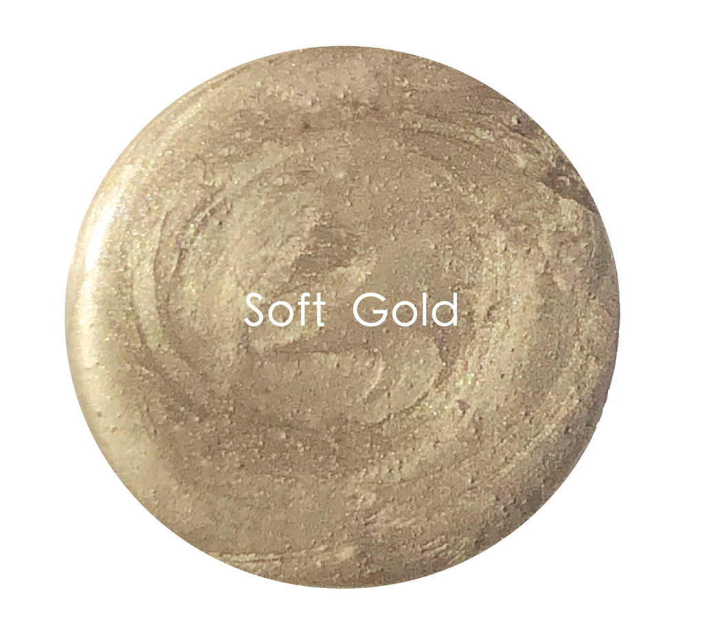 Metallic Creme - Soft Gold