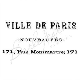 Ville de Paris French Advertising Stencil Large | Paint Me Vintage | Tauranga, New Zealand | chalk paint | chalkpaint | furniture painting | vintage paint | stencils | IOD | Iron Orchid Design | furniture transfers | workshops | where to buy stencils | stencils for sale nz | plastic stencils nz | craft stencils nz | Ville de Paris French Advertising Stencil Large