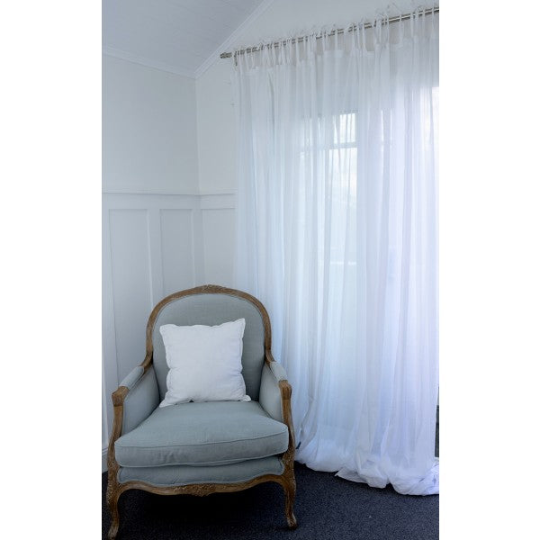 Curtain Charlotte White One Single Curtain