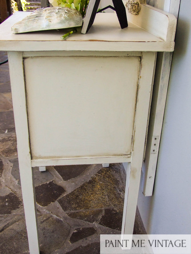 Yorkshire Stone Rustic Cabinet with Tea Rose Garden transfer NZ