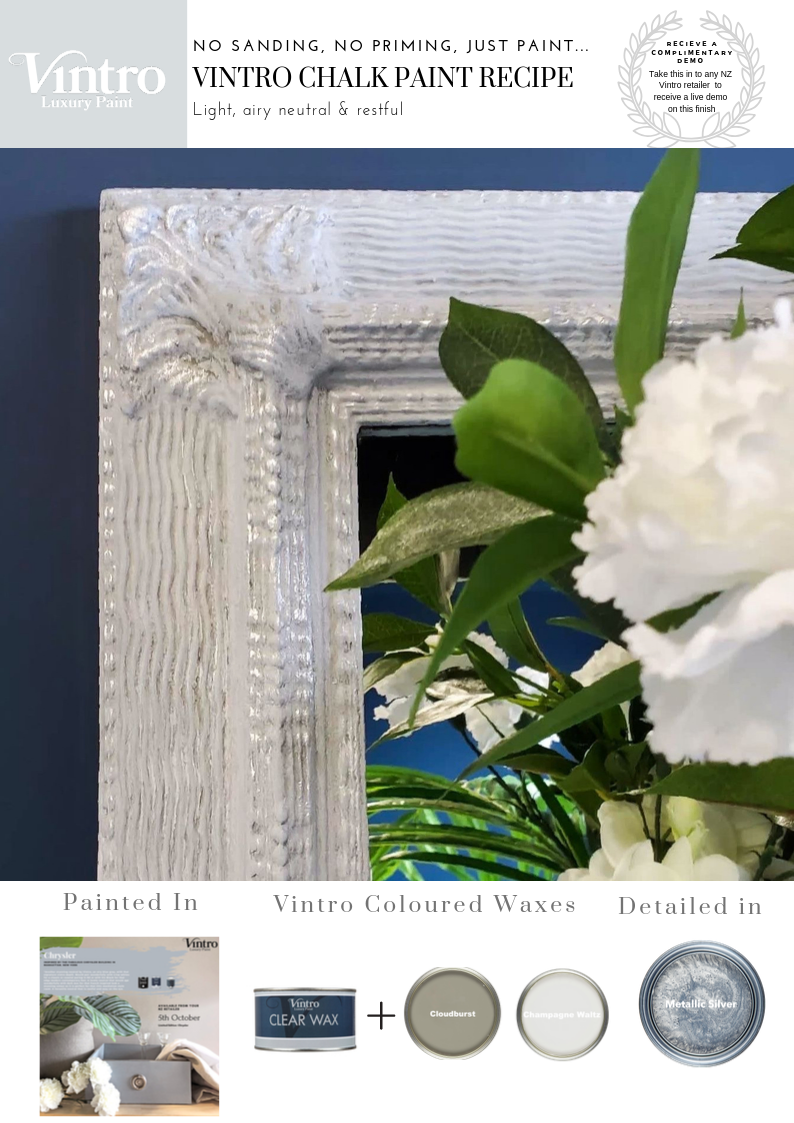 How to Create a Light Airy Neutral & Restful Paint Recipe