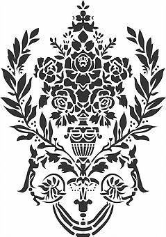 Grecian Damask Small Stencil | Paint Me Vintage | Tauranga, New Zealand | chalk paint | chalkpaint | furniture painting | vintage paint | stencils | IOD | Iron Orchid Design | furniture transfers | workshops | where to buy stencils | stencils for sale nz | plastic stencils nz | craft stencils nz | Grecian Damask Small Stencil
