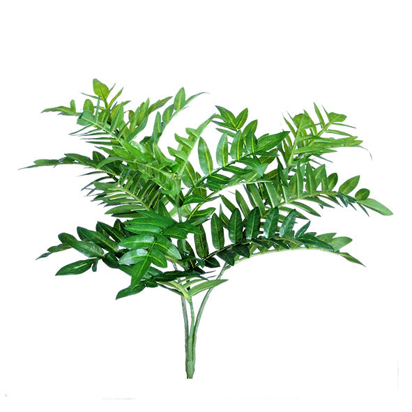 Foliage Fern Bush faux