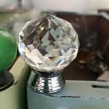 Round Crystal Knob - Large nz