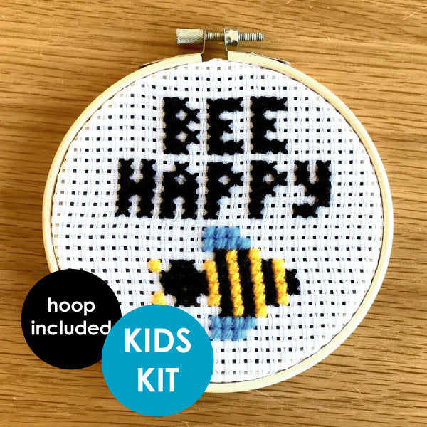 Bee Happy Kids Kit (with hoop)