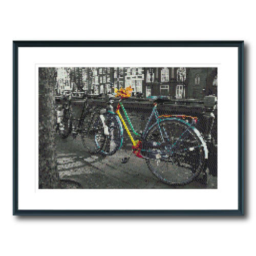 Colour Bike in Amsterdam