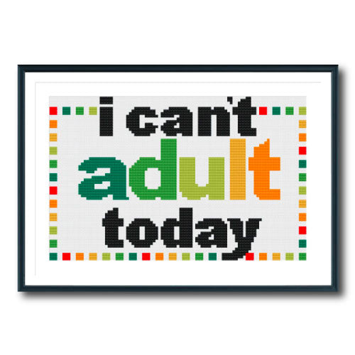 Can't Adult