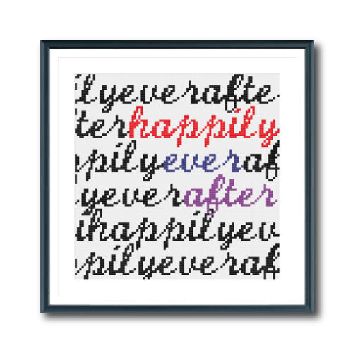 Happily Ever After (Cursive)