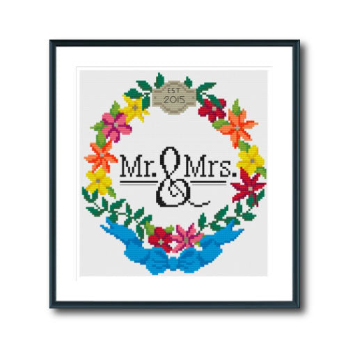 Mr & Mrs Wreath