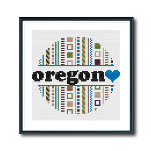 Retro Oregon