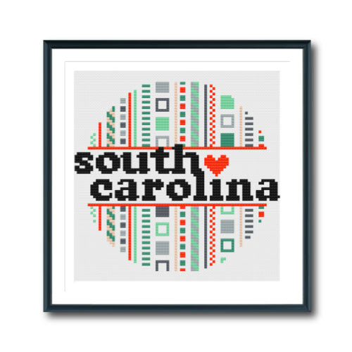 Retro South Carolina