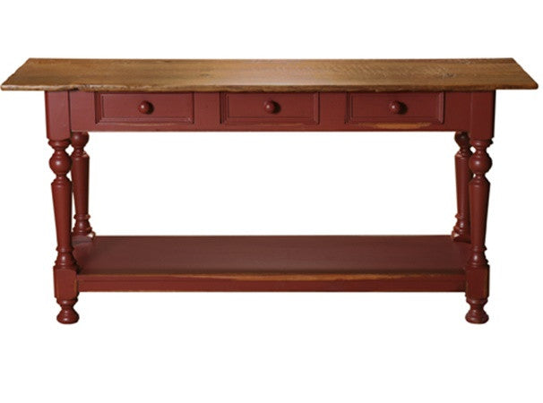 Birkshire Sideboard Table | Solid Wood Rectangular Country Buffet
