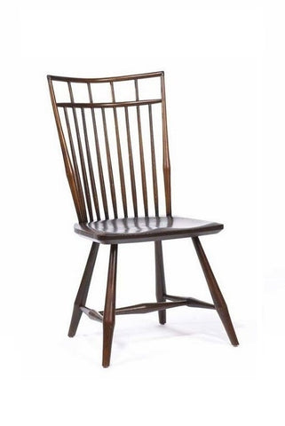 Contemporary Birdcage Side Chair | Solid Wood Windsor Chair