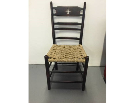 Black Cloverleaf Side Chair