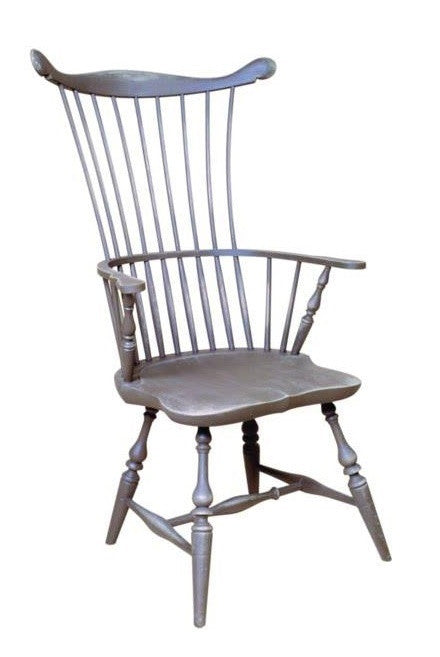 Traditional Comb Back Arm Chair | Solid Wood Dining Windsor Chairs