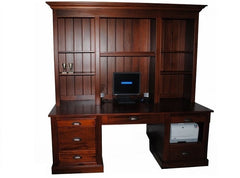 Country Desk & Hutch