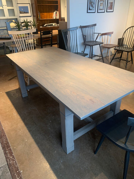7' Wormie Maple Rectangular Dining Table