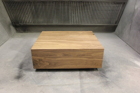 Invermay Coffee Table | Contemporary Solid Walnut Square Coffee Table