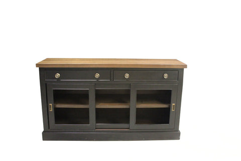 Kilbarry Buffets With Walnut Top | Wood Country Dining Room Sideboards