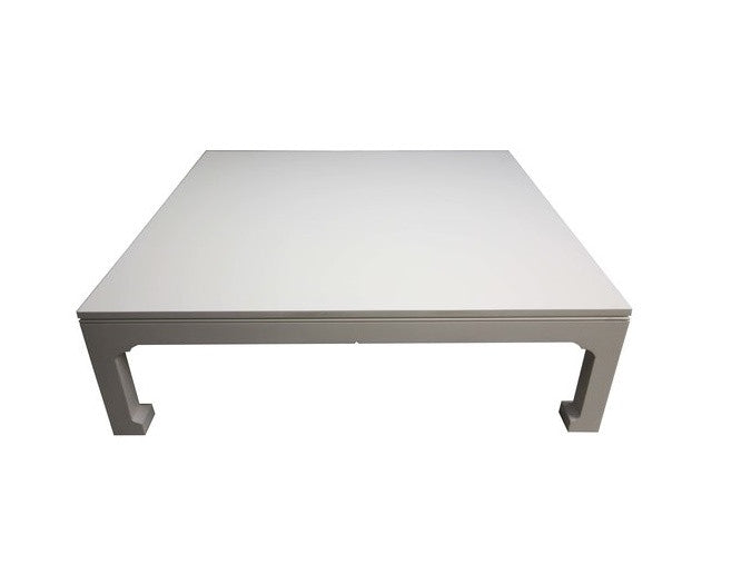 Lake Joseph Coffee Table | Large Solid Wood White Contemporary Coffee Table