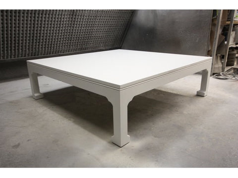 Lake Joseph Coffee Table | Large Solid Wood Contemporary Coffee Table