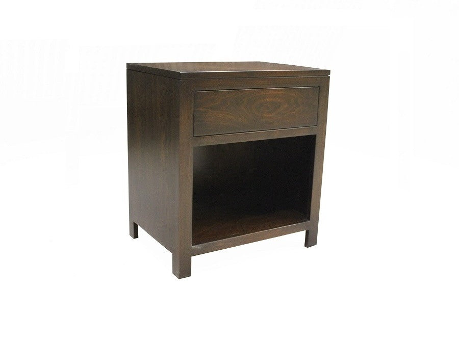 Lake Joseph Night Table | Wood Rectangular Contemporary Bedside Table