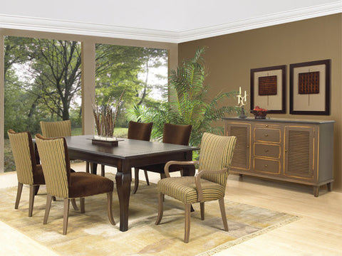 North Country Table | Contemporary Solid Wood Rectangular Dining Table