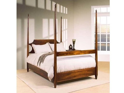 Pencil Post Bed | Solid Wood Contemporary Four Poster Bedframe