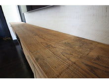 Load image into Gallery viewer, Reclaimed Pine Entertainment Console | Floating Rustic Media Unit