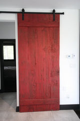 Sliding Rustic Barn Board Door