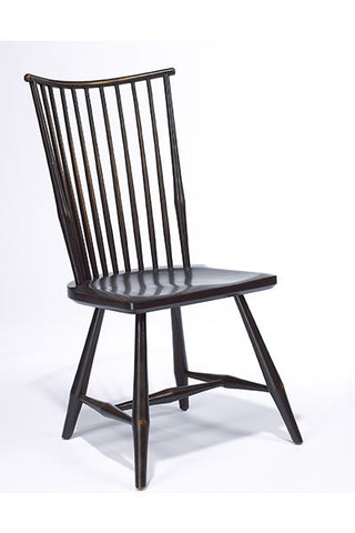 The Rod Back Side Chair | Contemporary Solid Wood Windsor Chair