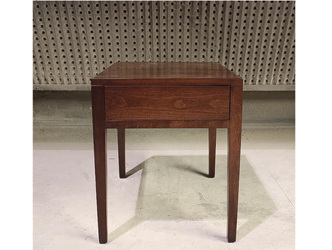 The Roselawn Night Table | Solid Wood Contemporary End Table