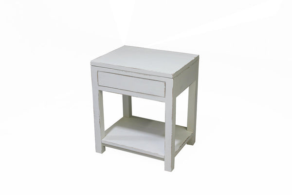 The Lake Rosseau Night Table | Shabby Chic Worn Finish