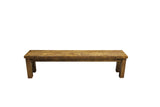 Rough Sawn Pine Dining Bench