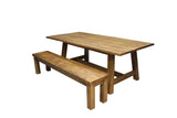 Rough Sawn Pine Dining Table
